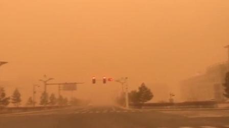 D1资讯 第一季 沙尘暴突袭内蒙古 画面如同世界末日
