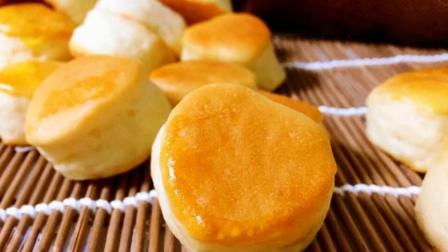(淡奶油小面包)一口一个, 淡淡奶香, 营养又美味