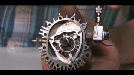 转子发动机是怎么燃烧运行的? 用慢镜头让你见识一下