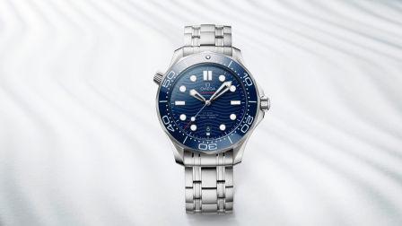 欧米茄海马系列300米潜水表 – Baselworld 2018