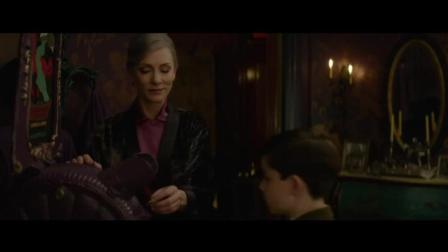 大魔王凯特·布兰切特联手杰克·布莱克, 奇幻新作《墙上有一个钟的房子》首曝预告。