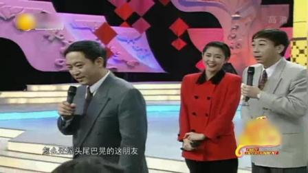 23年前一场10分钟43个包袱的相声, 冯巩最巅峰嘴皮和倪萍最美形象