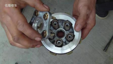 摩托车离合器小鼓总成, 主要功能和原理介绍