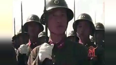 电视台未播放过的 1959林彪检阅部队电影, 国庆大阅兵