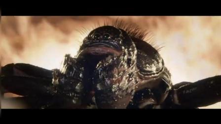 《谜巢》最后巨型蜘蛛被惹怒  吴尊仅打碎瓦片就将其消灭
