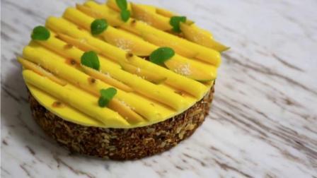 南美风情慕斯蛋糕(上): 用蛋糕体搭个圆盒子