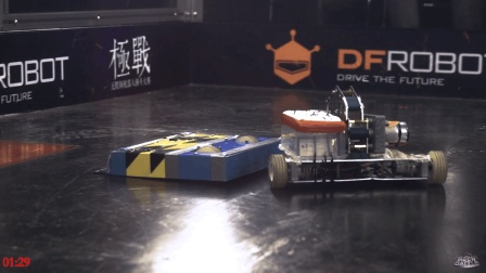 MechBattle第一季 # 第一轮 Mini Donkey对战NiusRobot