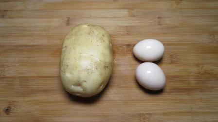 1个土豆, 2个鸡蛋, 教你做秘制的小零食, 酥脆香甜, 上桌就被抢光