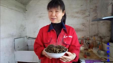 江西农村家乡菜 炒海带丝的家常做法视频 美味看的见 舌尖上的中国美食视频
