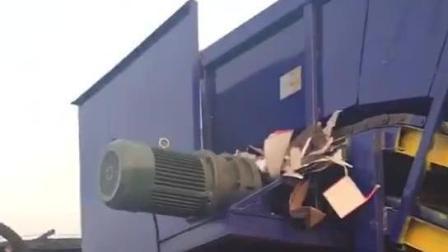 废品站打包神器---全自动废纸打包机