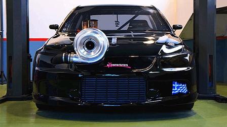 大神爆改EVO: 2000匹马力仪表盘全程爆表, GTR这次是真的怂了!