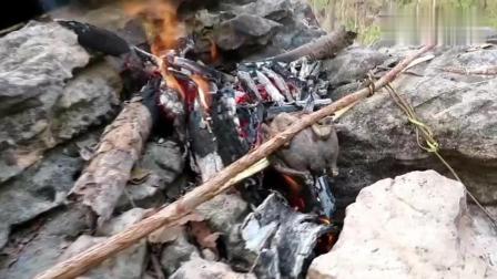 荒野生存: 越南大叔玩弹弓可以的, 默默心疼一下生活在越南的小鸟