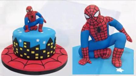 真实还原《蜘蛛侠》蛋糕, 这是我见过最精致的一款, 没有之一!