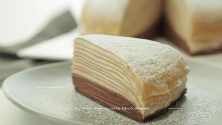 美食搬运: Cooking tree系列, 摩卡咖啡千层蛋糕