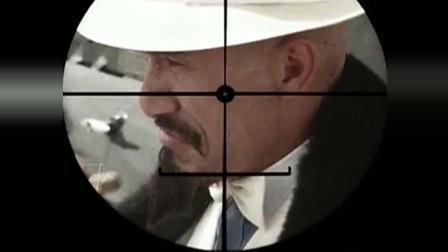 光头佬麦嘉扮演黑道大哥出狱, 一个眼神干掉一个狙击手