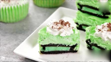 奥利奥芝士蛋糕的简单做法, 做出来是不是很漂亮!