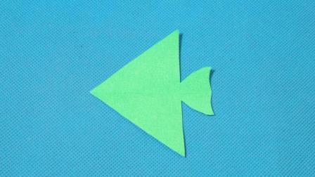 剪纸小课堂: 小鱼6, 儿童喜欢的手工DIY, 动手又动脑