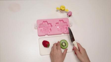 21 晶莹剔透的水果樱花冰棒