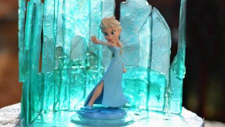 真实还原《冰雪奇缘》蛋糕, 这是我见过最有创意的! 没有之一!