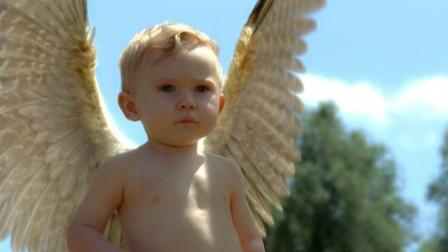 男孩天生有翅膀, 在众目睽睽下飞走, 等父母再见时他已是天使