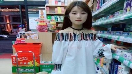 超市搭讪清纯小姐姐, 套路失败被踢要害