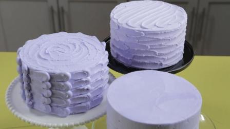 简单的装饰就可以让普通的蛋糕高级起来, 奶油蛋糕装饰教程