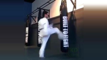 跆拳道炫酷腿法是如何炼成的? 看完这个视频你就懂了!