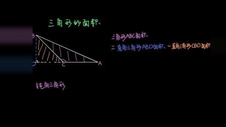 五年级数学 41 |多边形的面积: 三角形面积公式证明