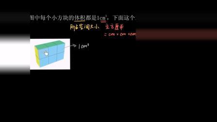 五年级数学 61 |长方体和正方体: 用单位正方体求体积