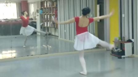 芭蕾形体舞蹈《贝加尔湖畔》非常难得的肚皮舞镜面教学视频!