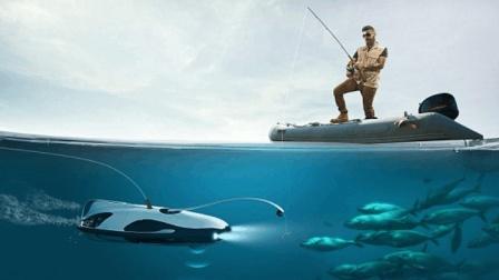 上钩拉杆看得见? 提供可视化视角的钓鱼无人机!
