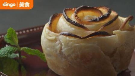 dingo 吃什么 2018 颜值爆棚的美丽甜点玫瑰花苹果派