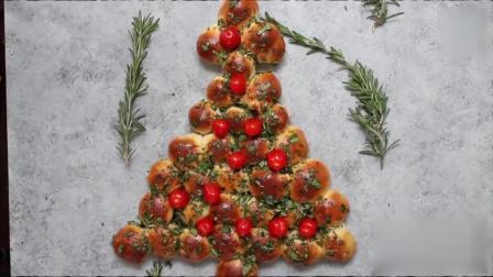 圣诞树小面包, 小朋友肯定特别爱吃