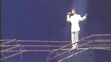 谭咏麟早期演唱会, 一首《水中花》, 让观众如痴如醉