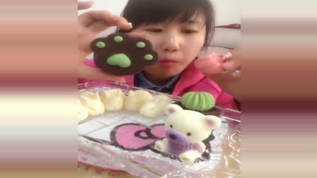 美食大姐自制手工巧克力, 小熊兔子做工特别精致