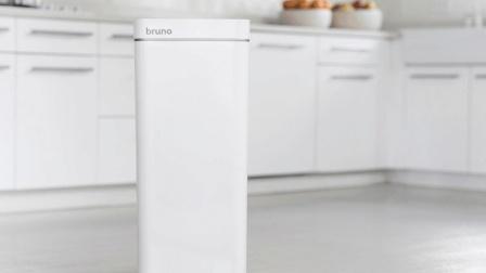 新款家用电器: 吸尘器和垃圾桶二合一, 用起来啥感觉?