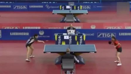 被称为最无聊的乒乓球比赛, 裁判都要睡着了, 能坚持看完的是条汉子! ! !