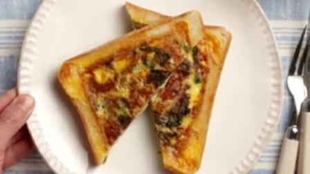 日本料理第七期, 加入菠菜和鸡蛋的早餐面包
