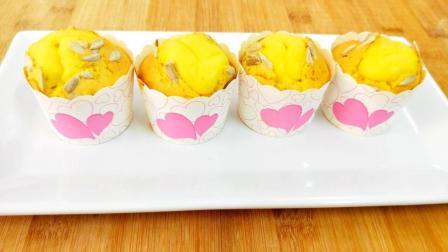 全蛋纸杯蛋糕, 没有比这个做法更简单的了, 保证你一学就会做!