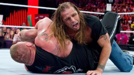 WWE最凶猛的布洛克-莱斯纳 到底折断过多少位选手的骨头?