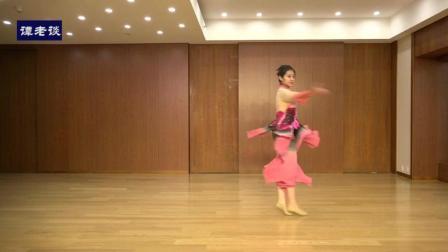 北京舞蹈学院古典舞《爱莲说》, 表演者闫颖琳, 专业技巧展示
