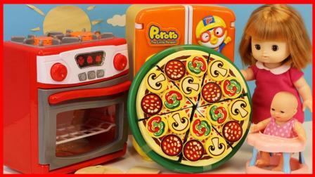北美玩具 第一季 公主用玩具烤箱DIY做披萨的过家家儿童故事