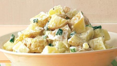 来自西班牙的老奶奶Digna Cid教大家正宗土豆沙拉的做法, 又简单 又好吃