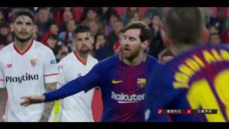 """""""你站住, 让我来"""", 梅西抢过队友皮球一脚爆射, 奇迹发生了!"""