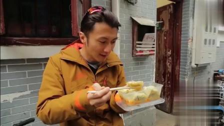 谢霆锋做美食节目吃馄饨, 对馄饨的评价只有三个字: 不好说