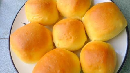 教你在家做蓬松的小餐包, 方法简单, 比吐司面包还好吃