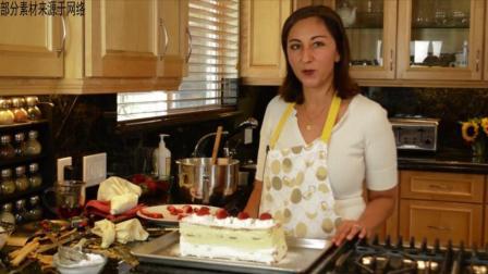 何炅推荐: 拿破仑蛋糕 网友: 真的很好吃, 草莓超级多