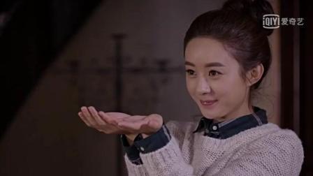 赵丽颖双手抱上向老办拿过年红包, 张翰竟说她像饥饿的流浪猫