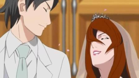 火影忍者: 照美冥结婚, 鸣雏在一起花火宁次见证, 勘九郎制造机甲战士