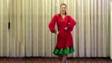 广场舞《阿尔山的姑娘》舞姿优美 附详细讲解